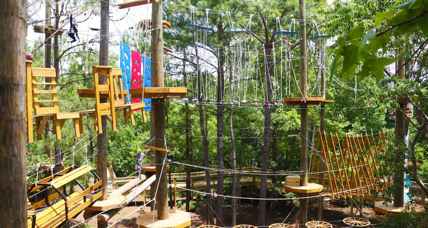 Challenge Yourself On The Adventure Course
